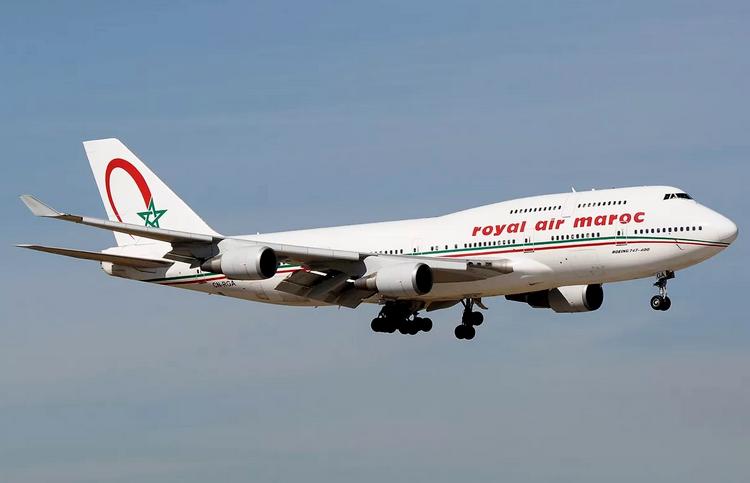 самолет Royal Air Maroc